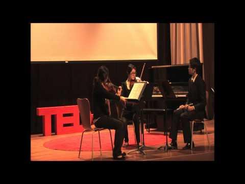 TEDxKA: Beethoven's Serenade Op. 25 by Li Zian, Gefei Chai and Dima Alhourani
