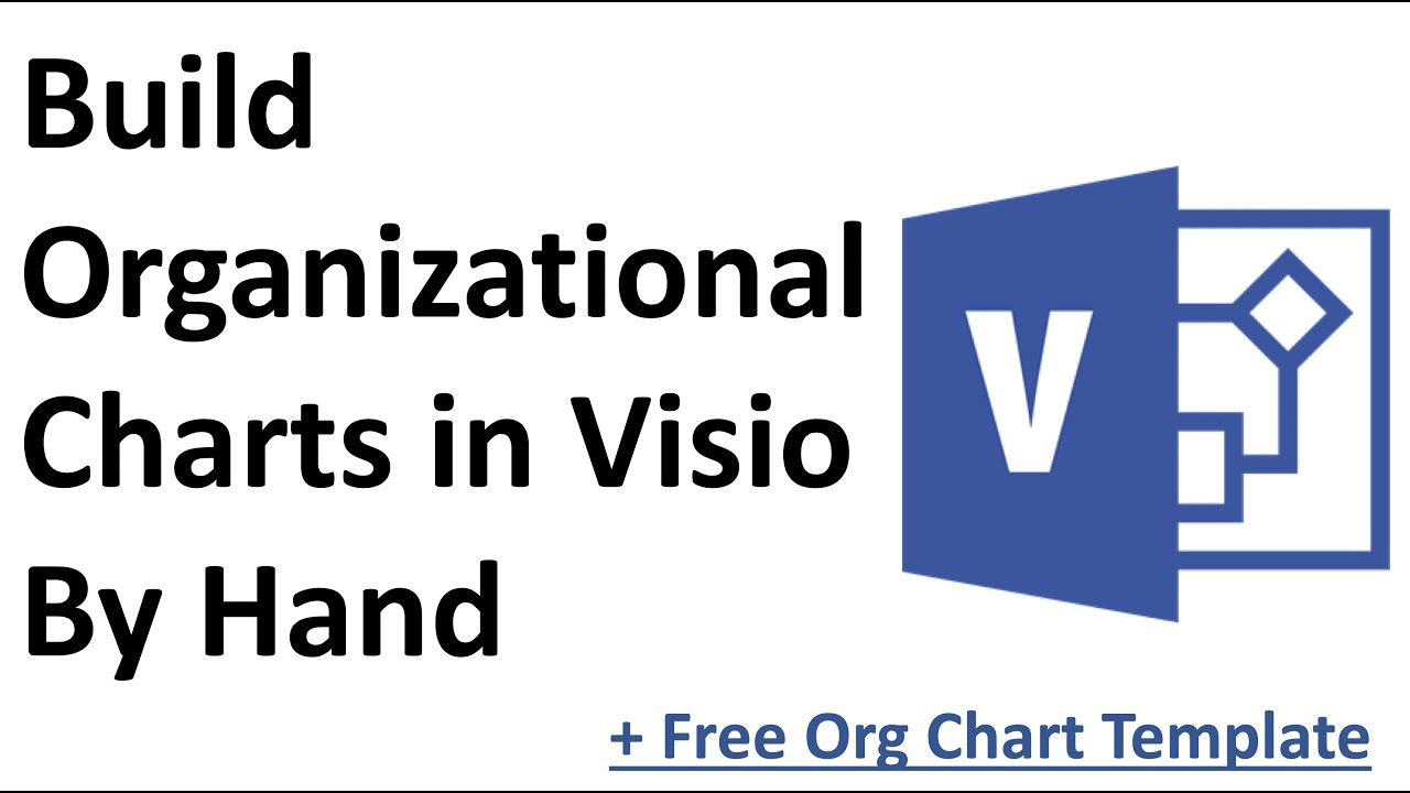 Visio Tutorial - Build Org Chart in Visio By Hand