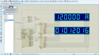 pic16f877a and ds1307 rtc based digital clock