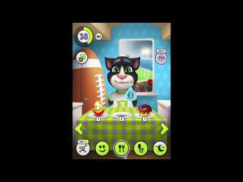 My Talking Tom Level 38 New Gameplay Cat Tom Kids Personal Cares #63 Igameplaydroid
