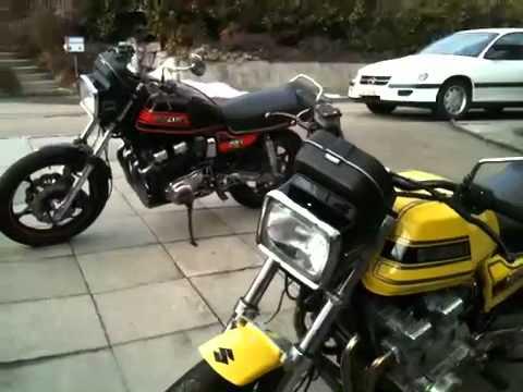 1981 suzuki gs 1100 - youtube