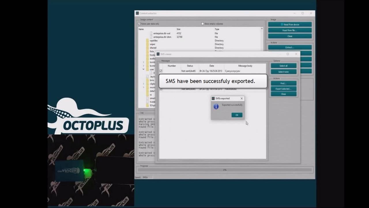 Extract Data using Content Extractor - Octoplus Box: unlock
