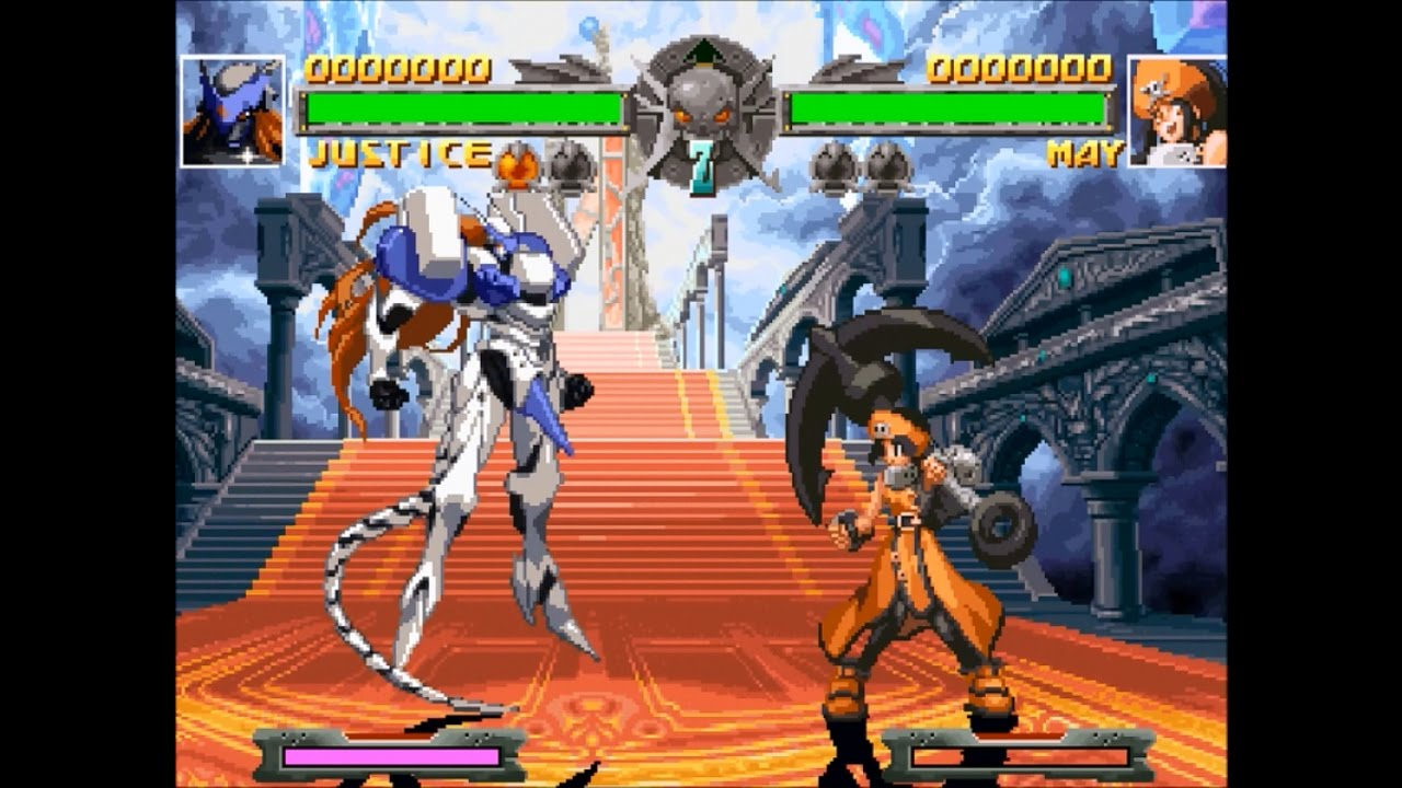 Guilty Gear [PS1] - play as Justice