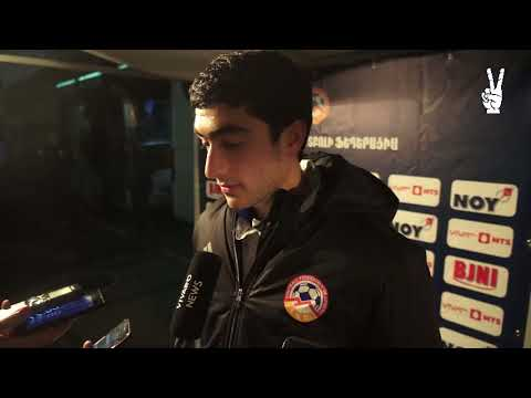 Erik Vardanyan post-match commentaries || Armenia 4-1 Belarus || Friendly || 09.11.17