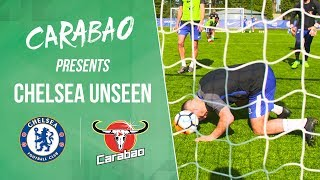 Hazard Scores The Naughtiest Goal Line Header In 5-A-Side | Chelsea Unseen