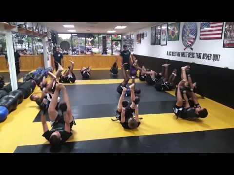 Teens Kick Boxing Warm up