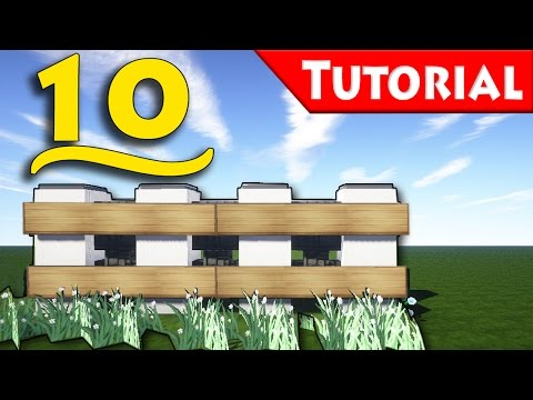 Minecraft Ways To Make Fence How To Build Tutorial For Modern House
