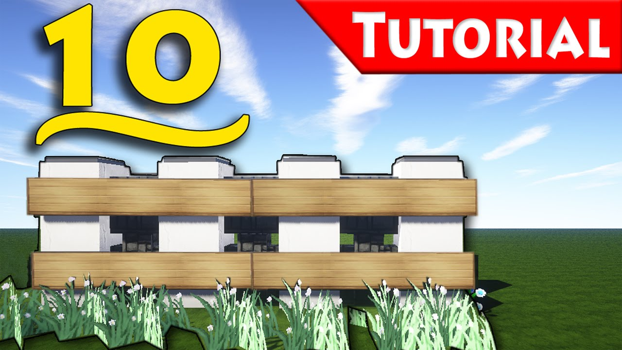 Minecraft 10 ways to make a fence how to build for How to build a modern home