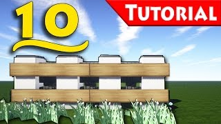 Minecraft: 10 Ways to Make a Fence / How to Build / Tutorial / For Modern House /