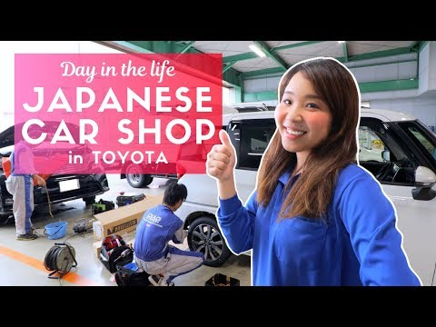 Day in the Life of a Japanese Car Repair Worker in Toyota