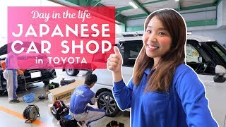 Day in the Life of a Japanese Car Repair Worker in Toyota thumbnail