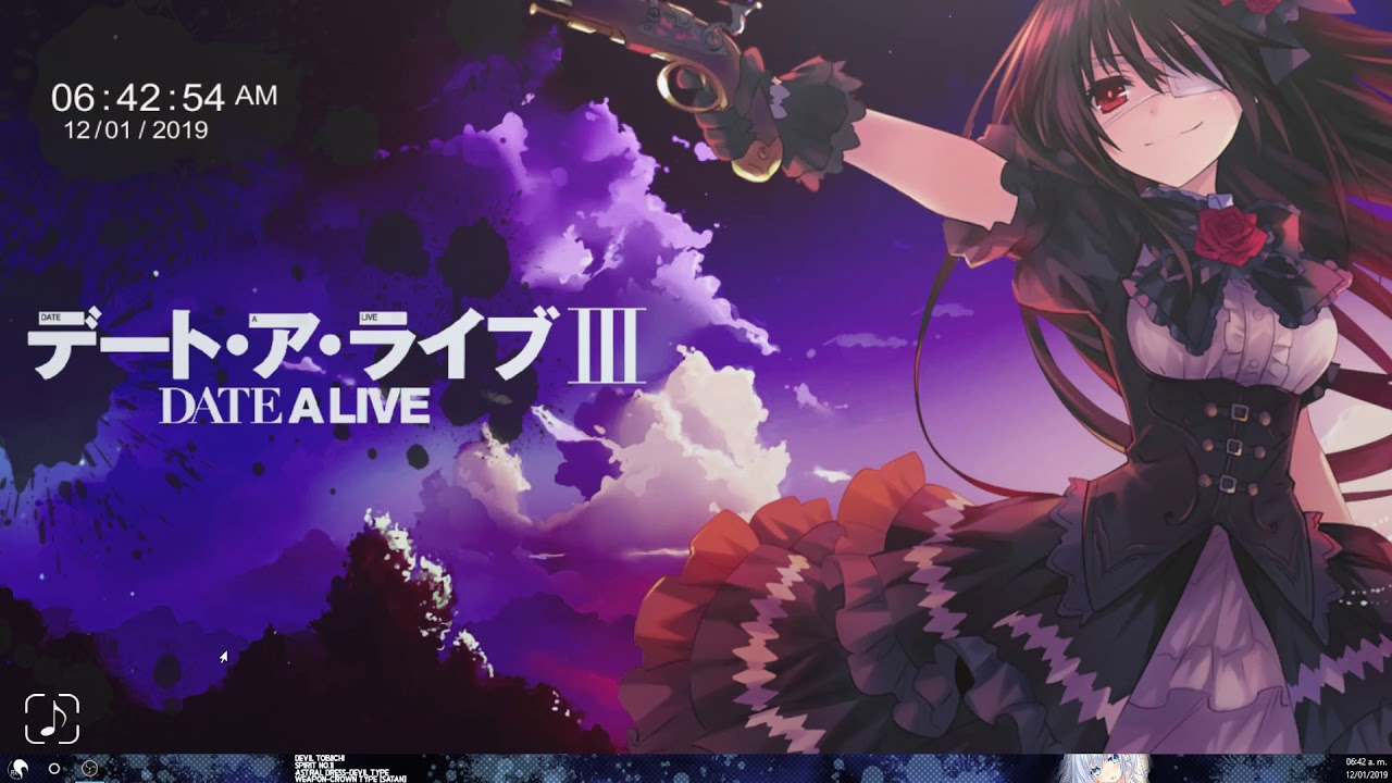 Wallpaper Engine Date A Live Iii Tokisaki Kurumi Youtube