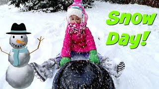 Fun In The Snow! Family Fun Kids Video Imani's Fun World