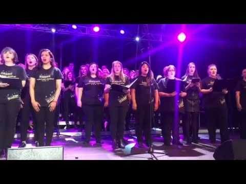 'Somewhere' performed by West End Musical Choir