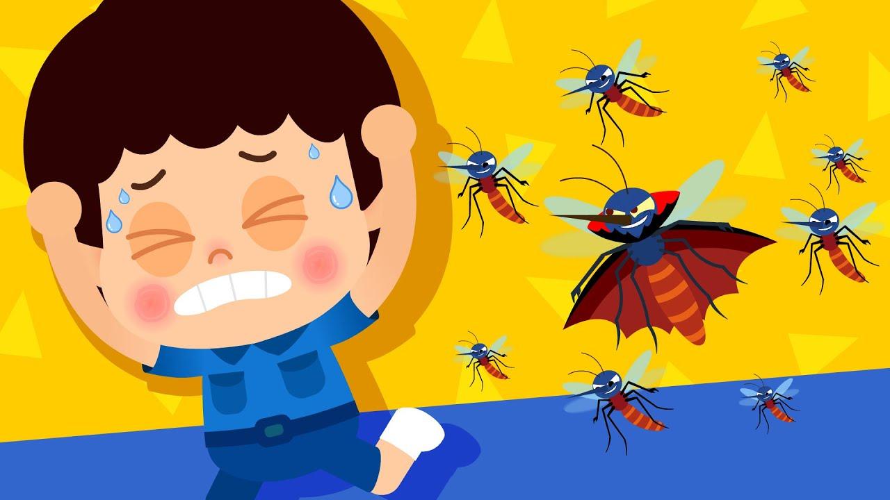 [동요 노래방] 앵앵 모기 송 ♪ | 나쁜 모기를 잡아라! | 생활습관동요 | 티디키즈★지니키즈