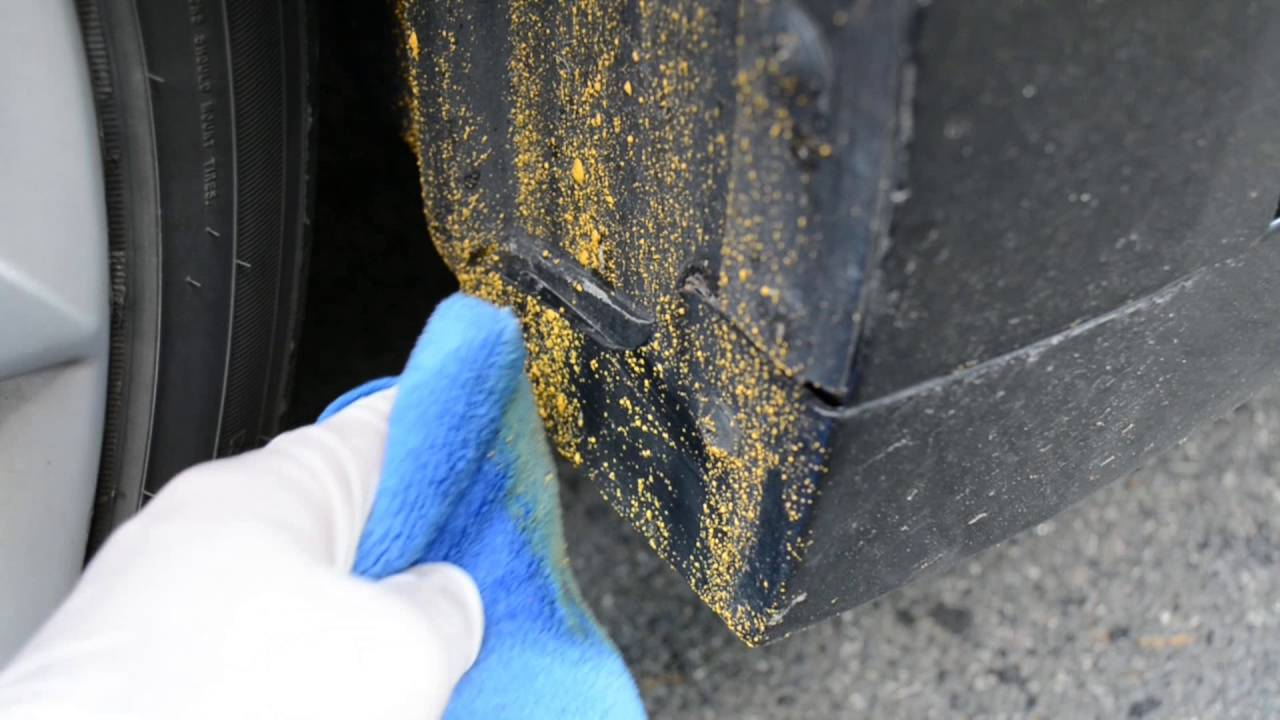 Best Way To Remove Road Paint From Your Car Youtube