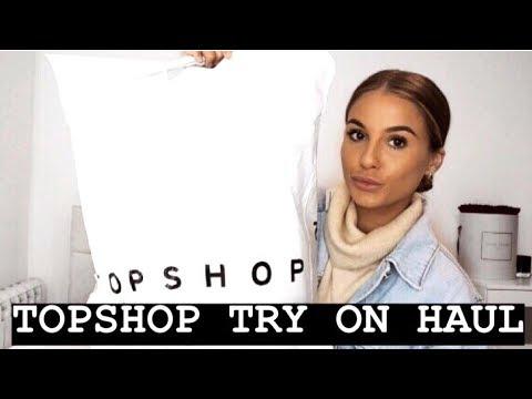 TOPSHOP TRY ON HAUL | SPRING BASICS | NADIA ANYA
