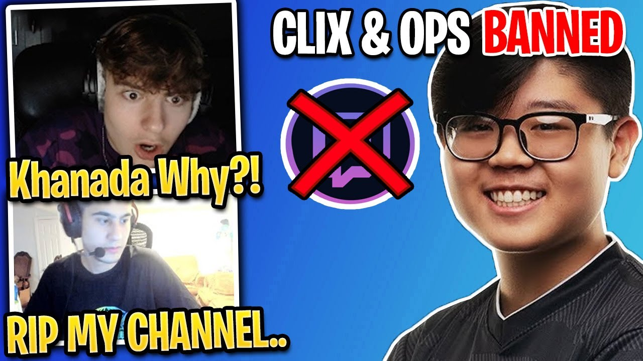 CLIX & OPS *FREAK OUT* After Khanada Tries To Get Them Both *BANNED* From Twitch (Fortnite Season 4)