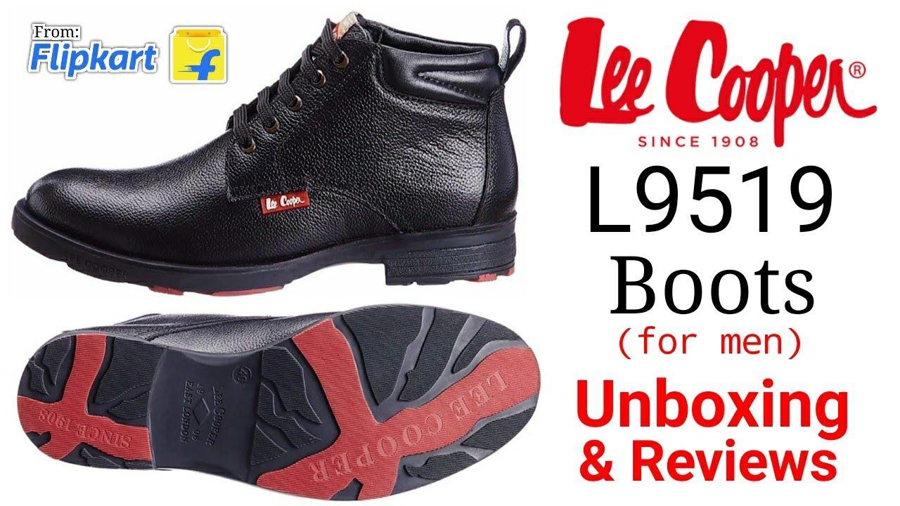 Lee Cooper L9519 Boots For Men (Black