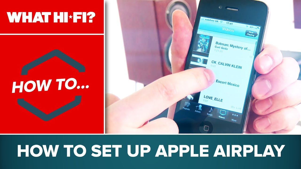 How to set up Apple AirPlay