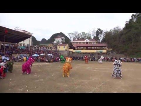 Tranh đầu pháo hoa - Lễ hội truyền thống huyện Thạch An, Cao Bằng 2016
