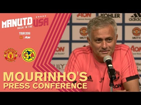 Jose Mourinho Press Conference | Manchester United v Club America | USA Tour 2018 Live on MUTV