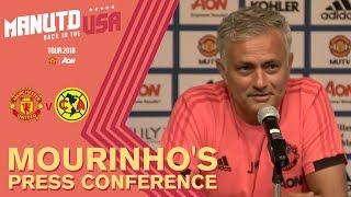 Jose Mourinho Press Conference | Manchester United v Club America | USA Tour 2018 Live on MUTV