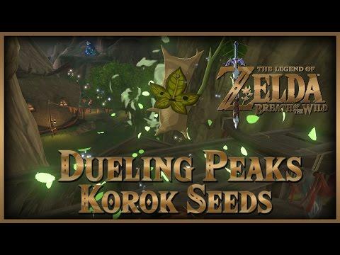 Zelda Breath of the Wild • Korok Seeds • Dueling Peaks