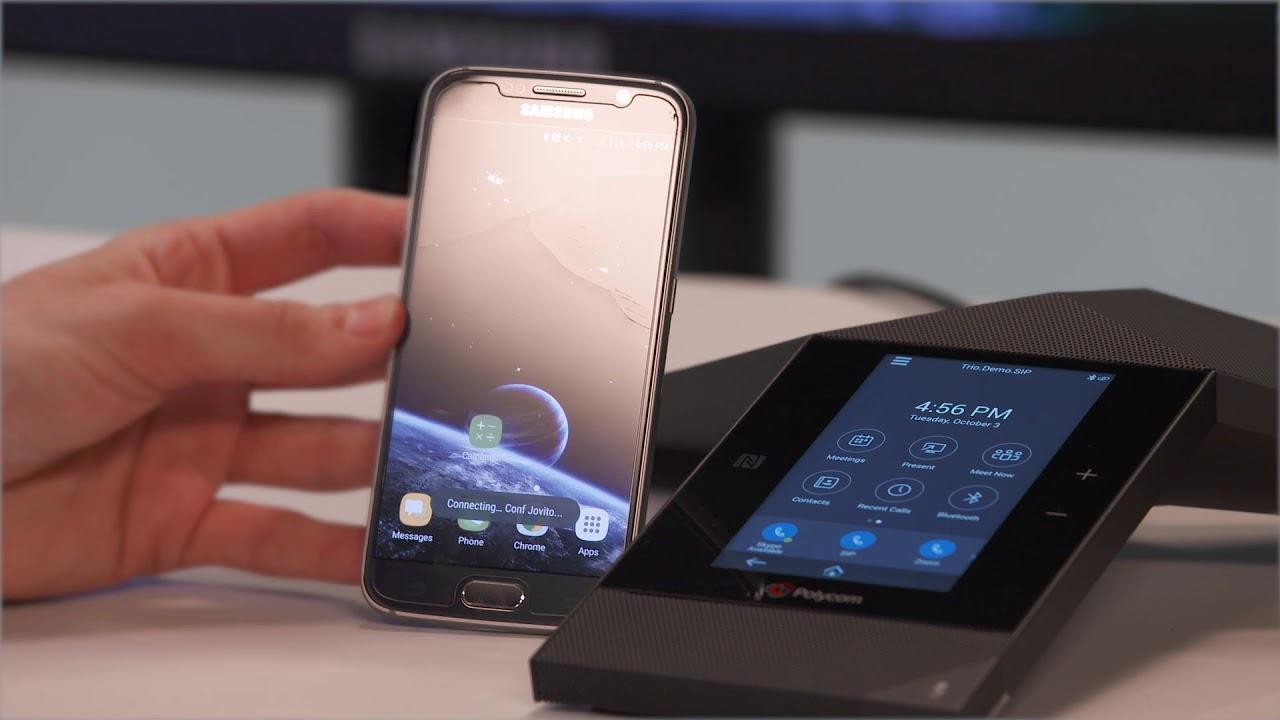 Polycom Trio™: How to Pair Your Mobile Device