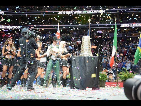 Championship Round And Jess Lockwood Celebration - Ultimas Montarias Da PBR 2019 Em Vegas