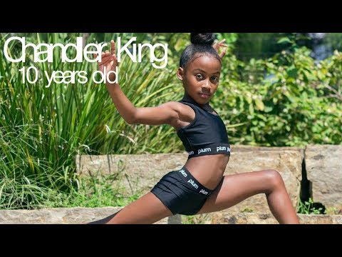 Chandler King - Amazingly strong 10 year old gymnast! (Level 9)