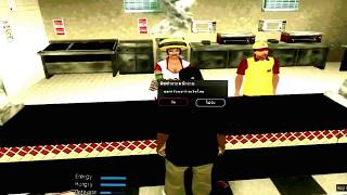 [GTA.RolePlay]  รีวิวการกินพิซซ่าในGTA Online เซิป Athena Truth of Life
