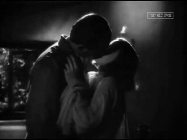 Greta Garbo and Melvyn Douglas - Kiss (As You Desire Me, 1932)
