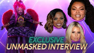 Night Angel's First Interview Without The Mask! | Season 3 Ep. 18 | THE MASKED SINGER