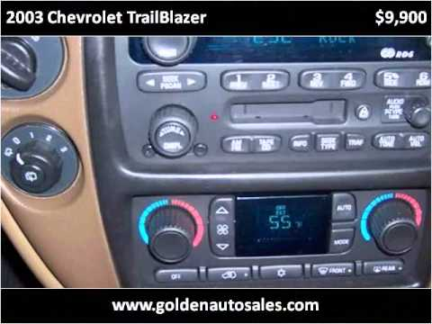 2003 Chevrolet TrailBlazer Used Cars Byron IL