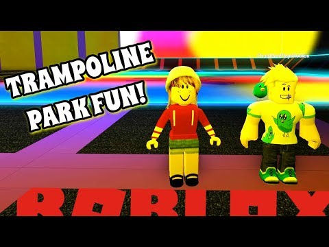 A DAY AT THE TRAMPOLINE PARK WITH CHAD! | ROBLOX ROLEPLAY