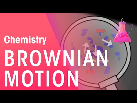 What is Brownian motion? | The Chemistry Journey | The Fuse School