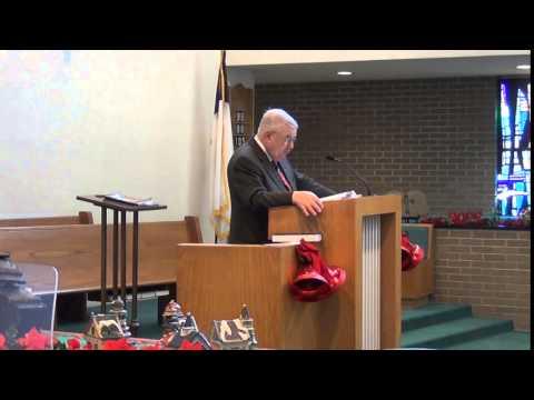 "Pastor William Kerr: ""The Almost Forgotten Man"" Matthew 1:18-25"
