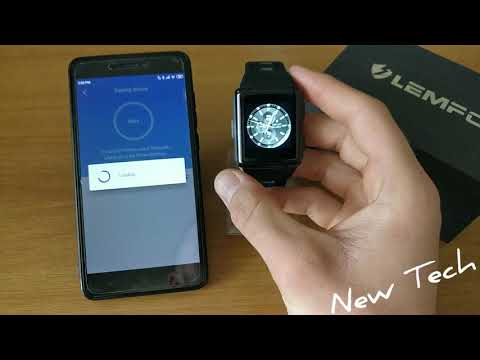 How to connect LEMFO M3 with Smart-Time app Android Smart Watch
