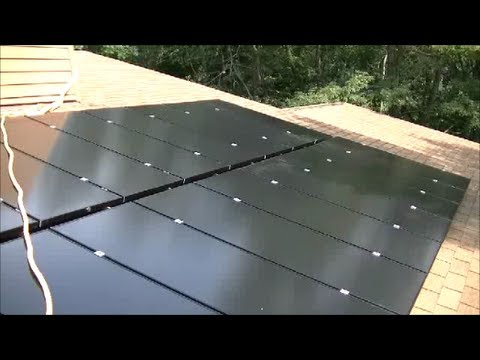 3KW DIY Solar Project Part 4 - Putting the Panels Up On the Roof and Hooking Up the DC Wiring