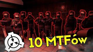 10 MTF'ÓW CZAI SIĘ NA JEDNEGO AGENTA CI! | SCP: Secret Laboratory [#75] (W: EKIPA)