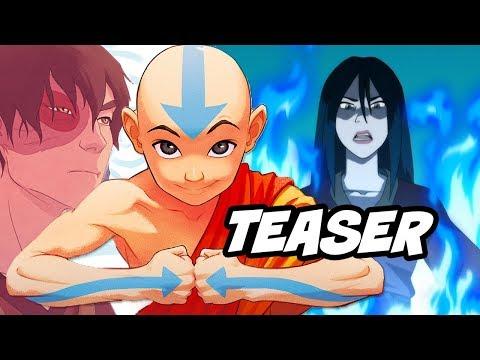 Avatar The Last Airbender Season 4 Story Teaser Breakdown - Azula Returns