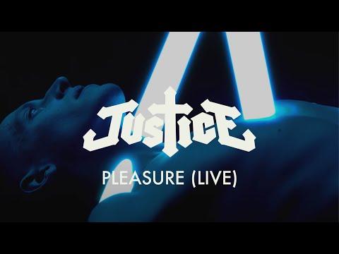 Justice - Pleasure (Live)