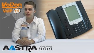 Aastra 6757i VoIP Phone Video Review / Unboxing