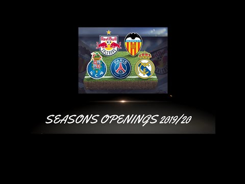 Top Eleven : SEASON OPENINGS (All The Way To PSG) - Part 1