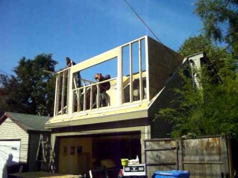 Framing Roofing And Siding A Dormer In 14 Hours 5 Youtube