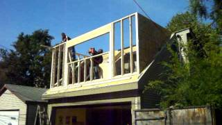 Framing, Roofing and Siding a Dormer in 14 hours 5