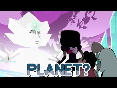 White Diamond IS Homeworld? The Living Planet! [Steven Universe: Wanted Theory] Crystal Clear