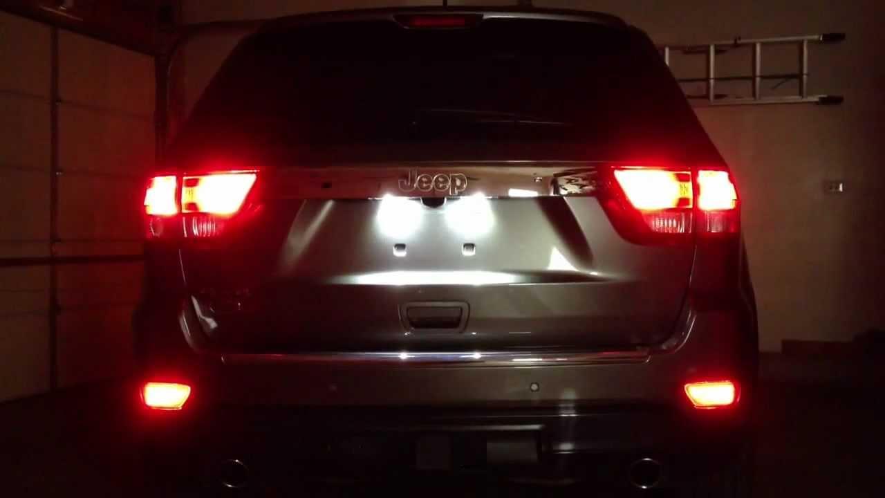2012 jeep grand cherokee light [ 1280 x 720 Pixel ]