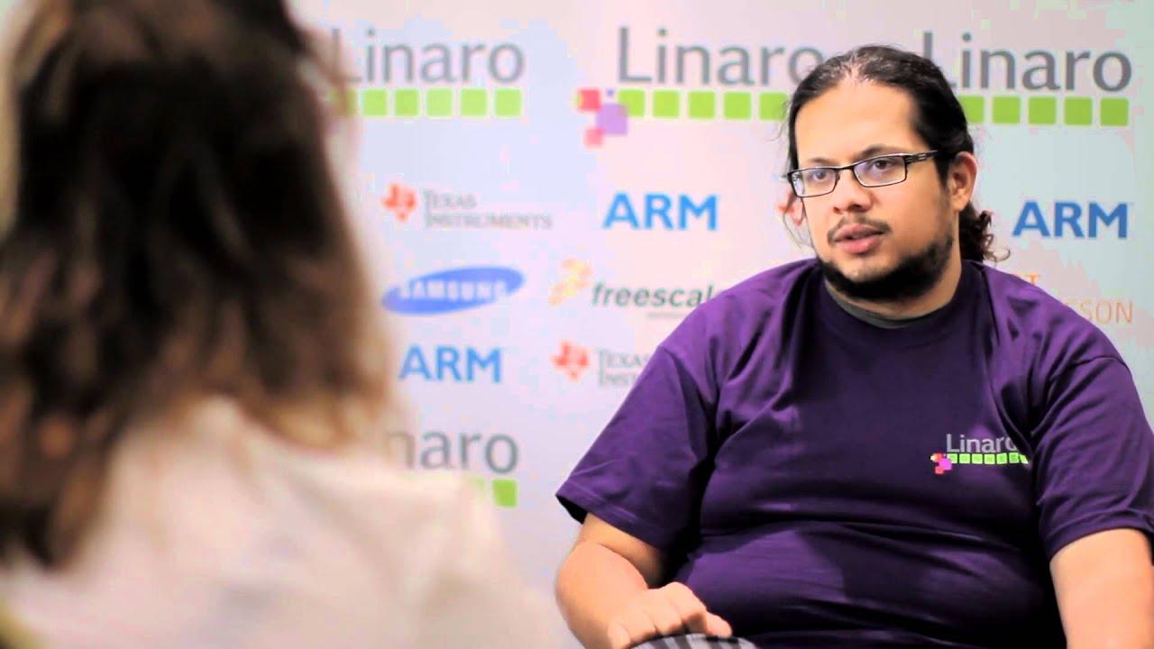 Linaro Kernel Tech Lead Deepak Saxena at Linaro Connect